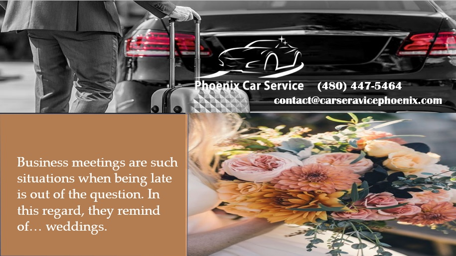 Phoenix Car Service for Wedding